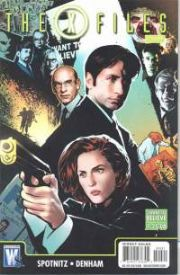 X-Files Special #0 Variant (2008) Movie DC comic book
